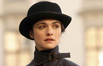 Rachel Weisz as Emma Peale?? Wait - this is the Avengers