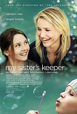 My Sisters Keeper movie poster