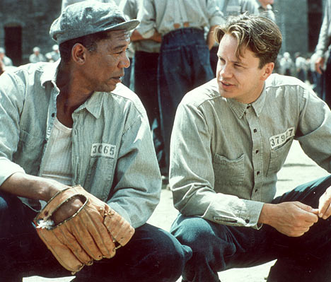 Morgan Freeman, Tim Robbins fom Shawshank Sedemption
