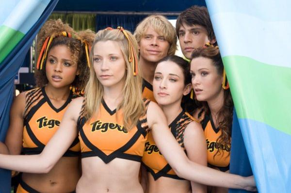 D'Agosto, Eric Christian Olsen, Sarah Roemer, Molly Sims - The Fired Up cheerleaders