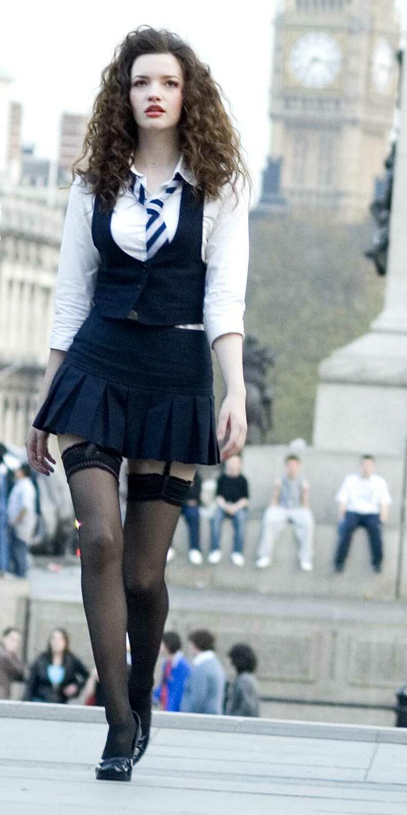 Talulah Riley - Annabelle Fritton from St Trinian's after her school make-over