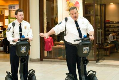 Kevin James on Segway